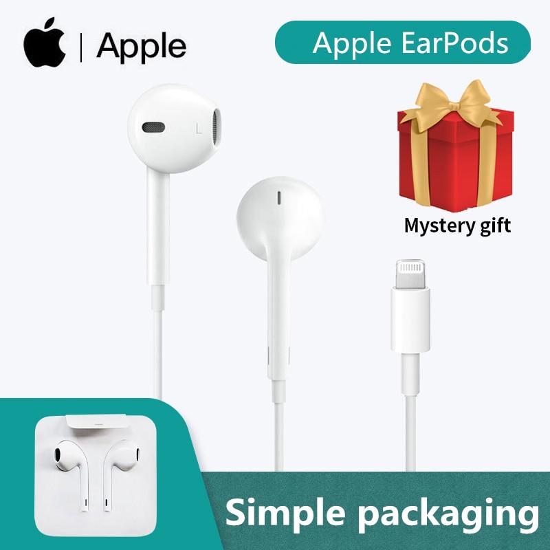Original Apple Earpods Lightning Plug & In-ear Earphones Sport Earbuds Deep Richer BaFor iPhone 7 8