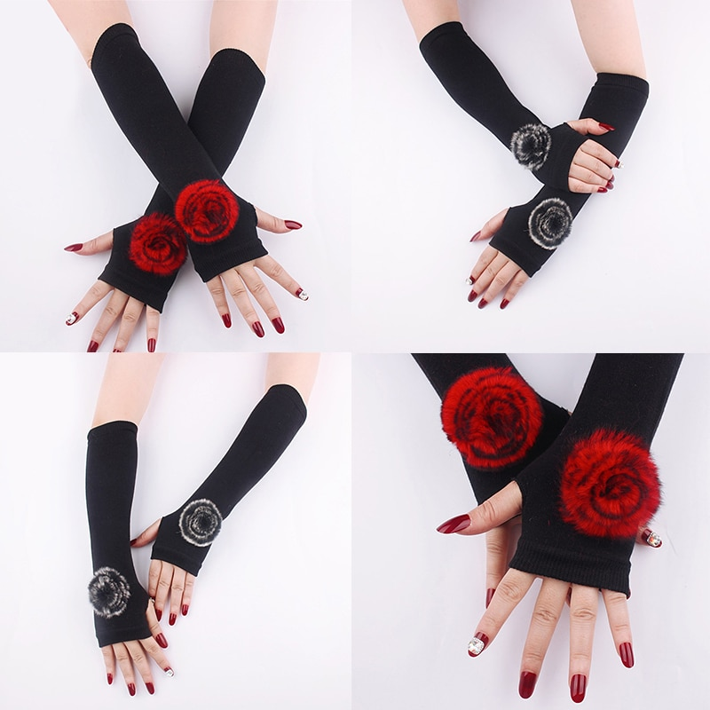 Обложки для рук, темпераментные обложки для рук в виде Розы, искусственные рукава, одежда, обложки для рук, характерные обложки для рук из кр...