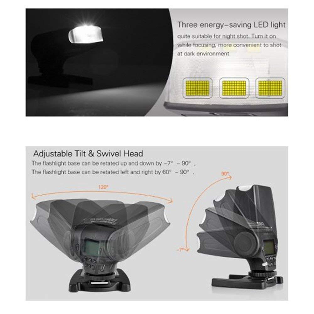 MEKE Meike MK320 TTL flash for Nikon D7100 D5300 D5100 D5200 D5000 D3300 D3200 D3100 D750 D810 D550  Z6 Z7 Cameras+GIFT enlarge