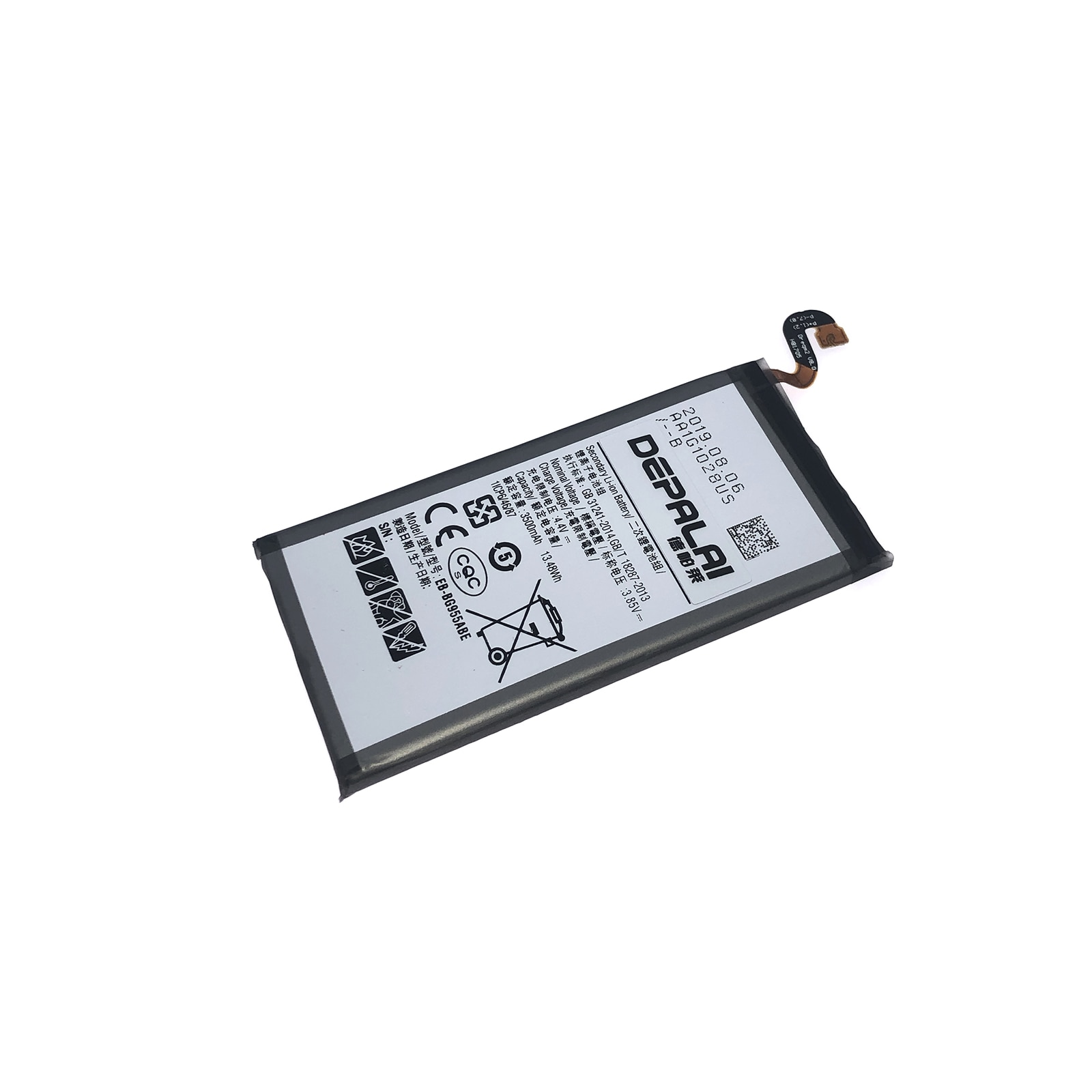 S8 Plus Battery For Samsung Galaxy S8 Plus Battery EB-BG955ABE 3500mAh Mobile Phone SM-G955F G955A G955T Replacement Batteries