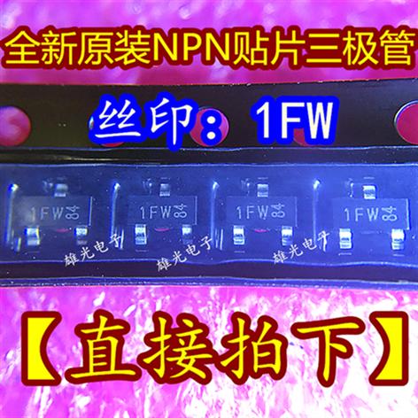 10 unids/lote BC847B 1FW 1F SOT23 NPN nuevo original