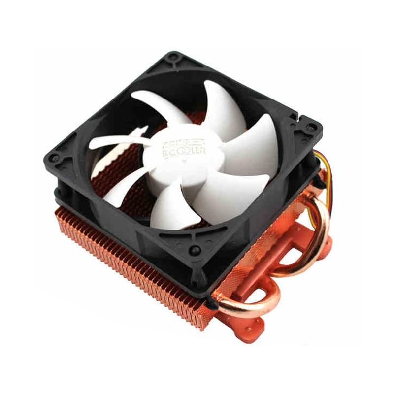 Радиатор для видеокарты Pccooler K80, 2 медных тепловых труб, 8 см, бесшумный вентилятор, 3PIN, бесшумное охлаждение GPU