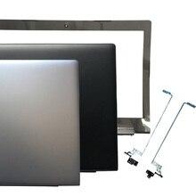 Novo para lenovo ideapad 310-15 310-15isk 310-15abr portátil lcd capa superior/lcd moldura capa/lcd dobradiças l & r