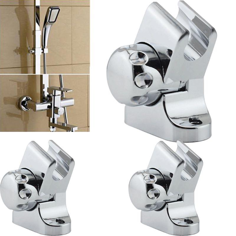 Adjustable Shower Head Holder Universal Rotation Bath Showerhead Stand Wall Mounted Bracket Bathroom