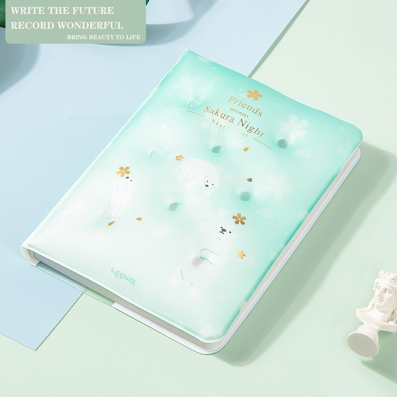 agenda 2021 planner organizer notebooks and journals cute daily planner notebook bullet journal school office kawaii stationery PP A5 Notebooks Journal Planner Notebook Agenda Organizer Note Book for Girl School Student Stationery