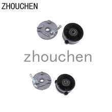 Moyeu de roue de boîtier de frein à tambour + chaussures pour 110cc 125cc gauche + droite
