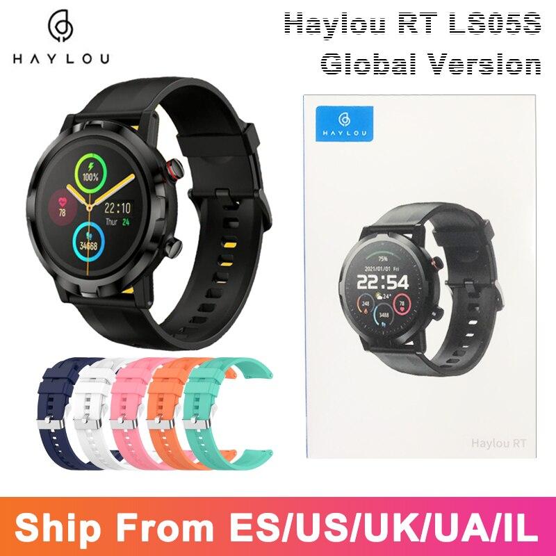 AliExpress - 2021 YouPin Haylou LS05S Smart Watch Men Full Touch Fitness Tracker Blood Pressure IP68 Waterpoof Women Smartwatch New Haylou RT