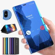 Case For Samsung Galaxy A30 A50 A40 A70 Mirror Flip Smart Book Cover On for Samsung A50 A 30 40 50 70 40a 50a 30a 70a 2019 stand