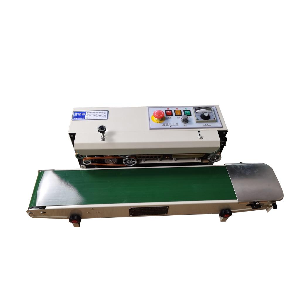 FR-770 Automatic Continuous Film Aluminum Foil Bag Sealing Machine Food Tea Packaging Machine Sealing Machine