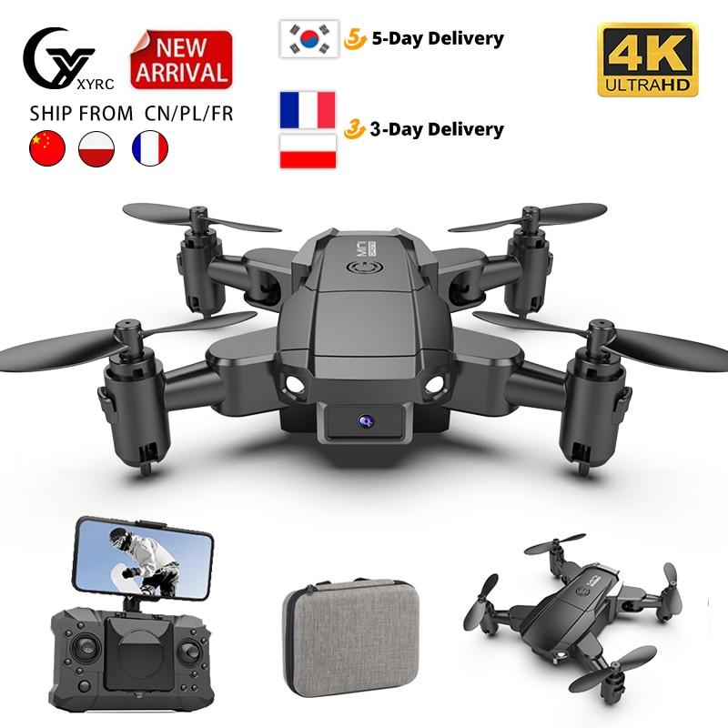 طائرة صغيرة بدون طيار KY905 كاميرا احترافية عالية الدقة 4K تعمل بالواي فاي FPV طائرة رباعية بدون طيار قابلة للطي بمفتاح واحد يمكن إرجاعها 360 لعبة م...