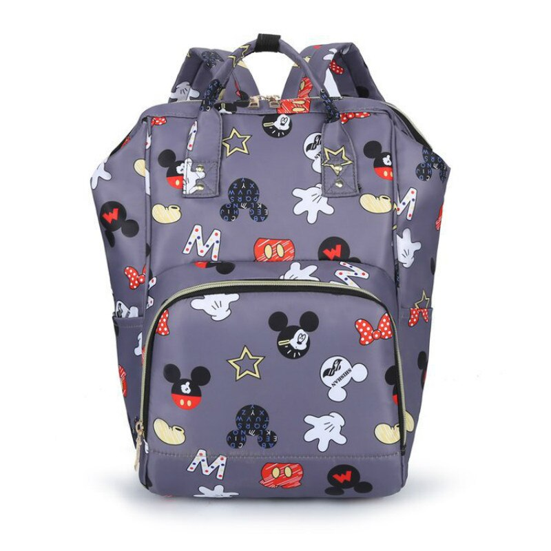 Disney new children schoolbag girls Korean backpack large capacity backpack travel bag cartoon Mickey handbag