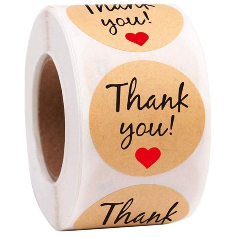 sello-de-pegatinas-de-agradecimiento-impresion-de-pata-de-perro-1-pulgada-embalaje-de-regalo-papeleria-50-500-uds
