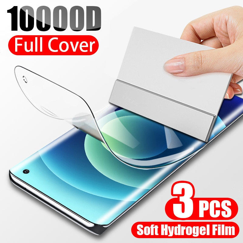 Hydrogel Protective Screen Protector For Samsung Galaxy S10 S9 S8 S20 Plus S10E Full Cover Film On A51 A71 A50 A70 Note 9 8 10