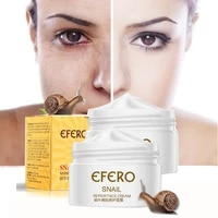 snail face cream hyaluronic acid cream anti aging remove eye bag lifting firming fine lines facial skin care cosmetics