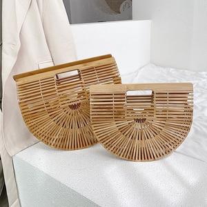 YL High Quality Female Weave Tote Bag Fashion New Women's Designer Elegant Handbag Large Saddle Bag Straw Beach Travel Bags