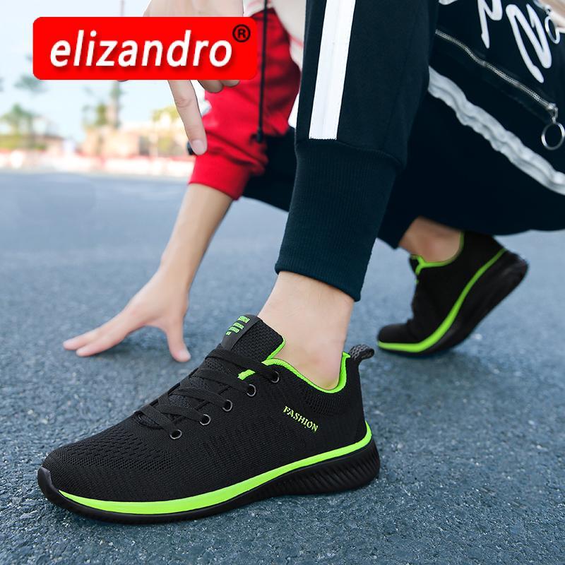 Tênis de Corrida Tênis de Caminhada Casal Tecido Leve Confortável Manter Correndo Sapatos Casuais 2021