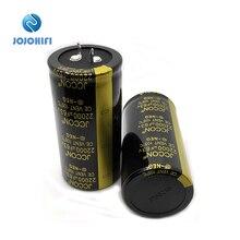 2 шт. одна пара 22000 мкФ с алюминиевой крышкой, 63В 35x70 мм JCCON 105 ℃, алюминиевая крышка, 63В 22000 мкФ Рог Алюминий аудио усилитель для резки проволоки Мощность фильтр конденсаторы