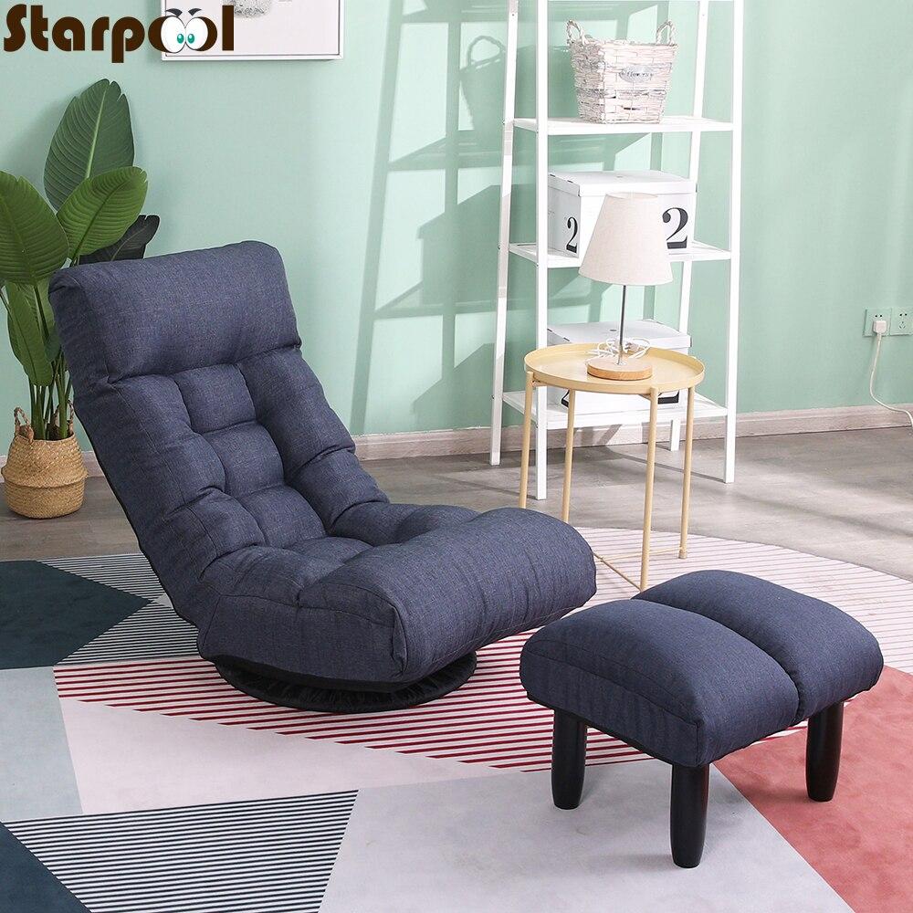 Новинка, большой шезлонг с татами, Кресло-мешок для сна, ленивый диван, стул для чтения, напольный стул, одинарный диван