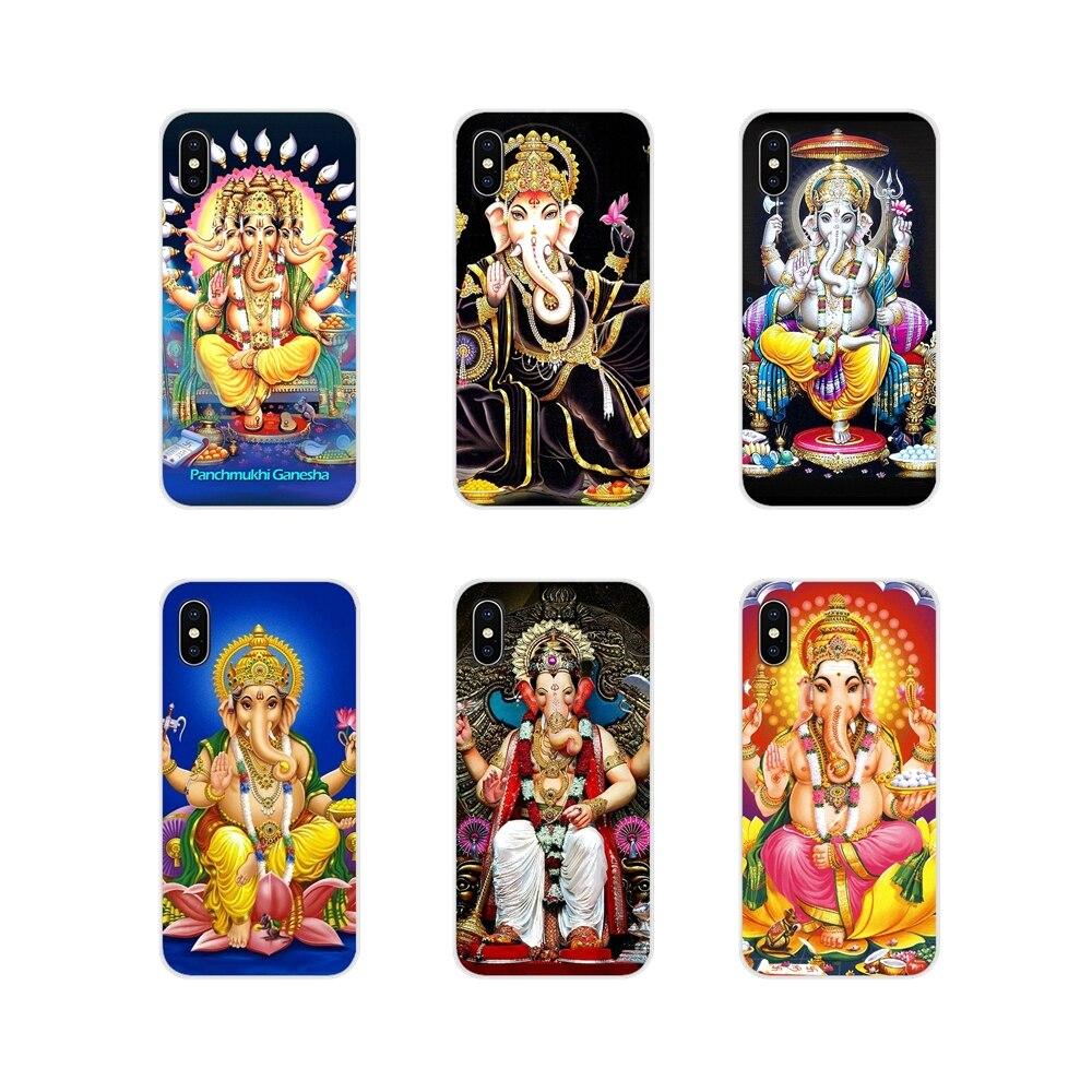 Для Xiaomi Redmi 4A S2 Note 3 3S 4 4X5 6plus 7 6A Pro Pocophone F1 прозрачный ТПУ чехол лорд Ганеша индуистской Ганеша Будда