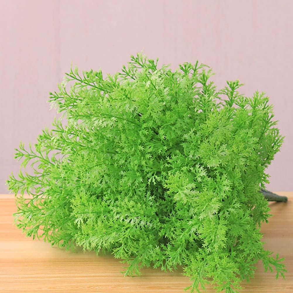 Искусственные растения, зеленая трава, пластиковый цветок, искусственная трава, настольное украшение, трава для сада, уличное украшение, ис...