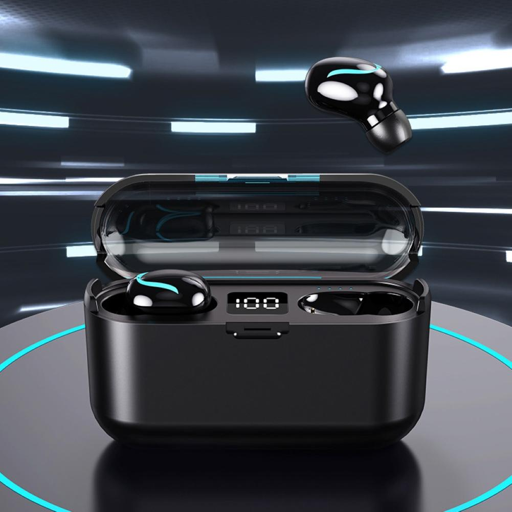 Auriculares inalámbricos Bluetooth S1 con Control táctil y reducción de ruido, Cable convertidor HDMI a DVI-D