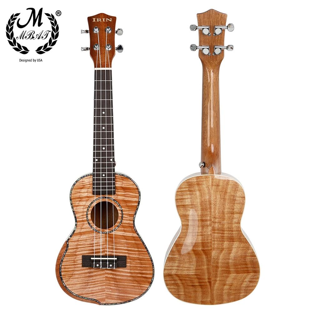 M MBAT Ukulele 23 Inch Hawaiian Guitar Musical Instrument 4 Strings Mahogany Concert Acoustic Ukulele Tail Nail Arm Guard Guitar enlarge