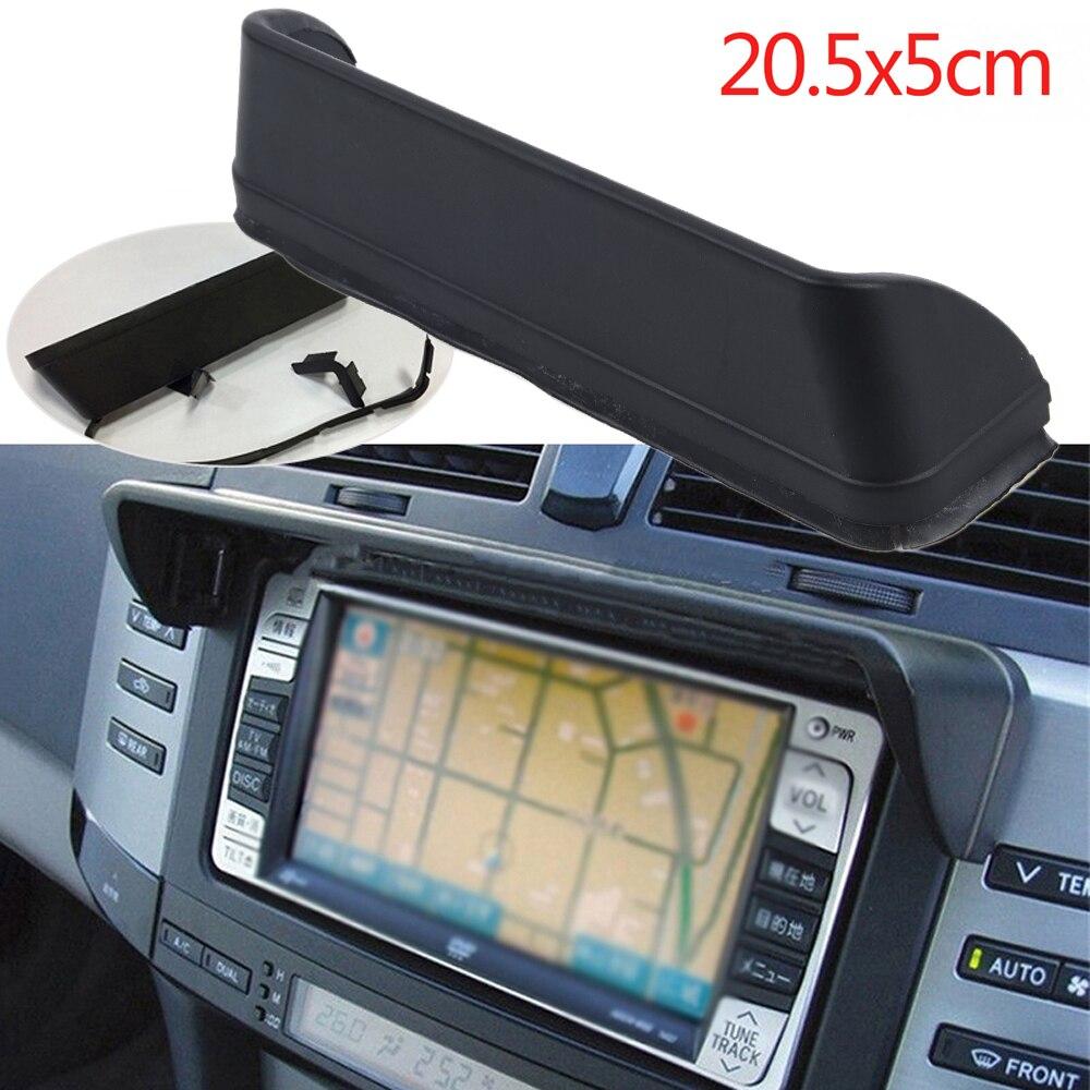 1 шт. антибликовый Автомобильный видеорегистратор, солнцезащитный козырек, GPS-навигация, аксессуары, универсальная крышка 20,5*5 см