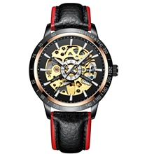 IK Colouring Watches Men Watches Leather Belt Automatic Mechanical Watches Men Sports Watches Erkek