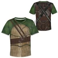 tortoise 3d printed hoodies kids pullover sweatshirt tracksuit jacket t shirts boy girl cosplay 01