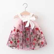 New Baby Girls Tutu Skirt Child Flower Embroidery Lace Princess Skirt Temperament Fluffy Tulle Summer Sweet Skirts