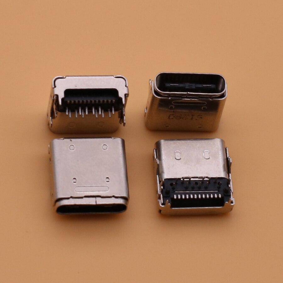 5 قطعة لينوفو Miix 510-12ikb 510-12ISK TYPE-C USB 3.1 شحن ميناء تهمة المقبس موصل