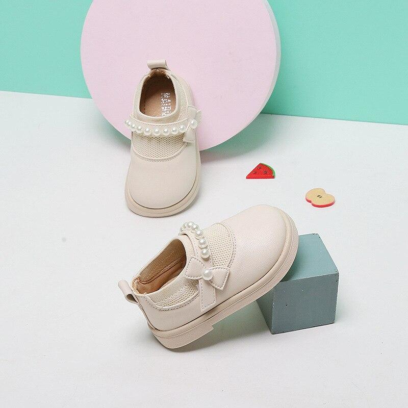 Детская обувь, обувь принцессы, весна и осень, детская кожаная обувь на мягкой подошве, детская обувь для малышей