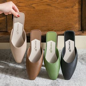 New Arrive Summer Women Slippers Fashion Outdoor Shoes For Female Low Heels Casual Shoes Lady Footwear Comfort Shoes 2021
