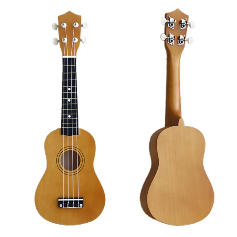 21 inch Soprano Ukulele 4 Strings Hawaiian Guitar Uke + String + Pick For Beginners kid Gift enlarge