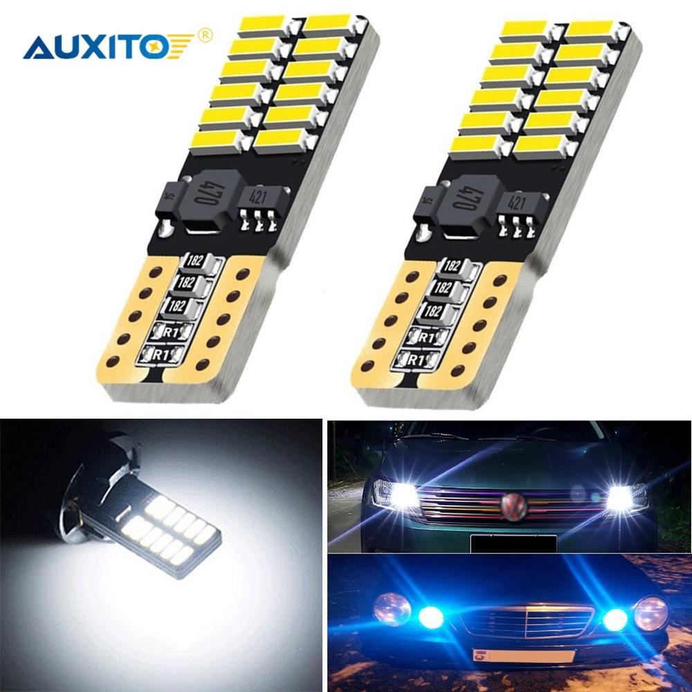 2x T10 W5W LED Canbus Car Parking Light Clearance Lamp For Mercedes W211 W203 W204 W210 W124 W202 W220 W164 X204 AMG Accessories