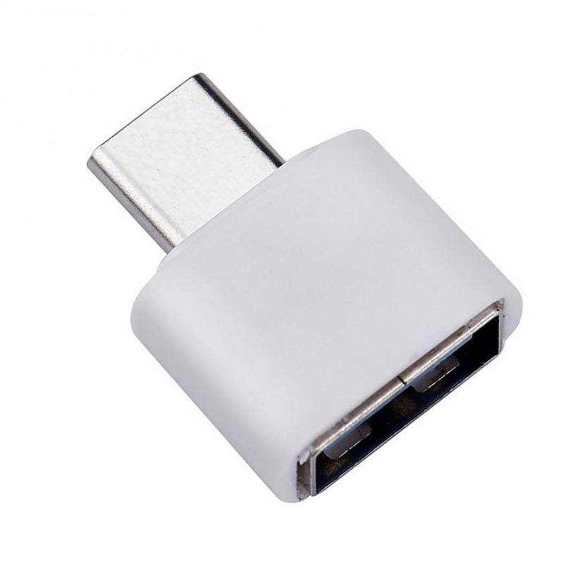 Тип C OTG USB 3,1 к USB 2,0 адаптер Разъем для Samsung Xiaomi Huawei телефон высокоскоростной Сертифицированный Аксессуары для мобильных телефонов