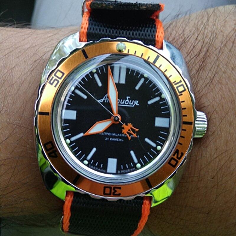 Premium de la OTAN nylon zulú correas de cinturón naranja a rayas, 20mm, 22mm, correa de reloj de los hombres de las mujeres Deporte Militar reloj de pulsera Accesorios