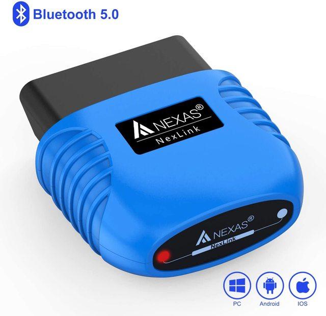 Сканер NEXAS NexLink Bluetooth 5,0 OBD 2 диагностический инструмент EOBD считыватель кодов двигателя Автомобильный сканер для iOS Android Windows
