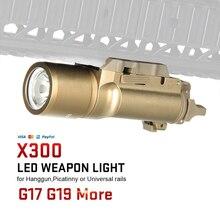 TRIJICON Quick-Detach Rail Klem X300 Ultra LED Wapen Licht voor de Jacht en Outdoor Gebruik gs15-0026