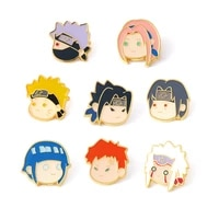 lt1159 cute japanese anime icons enamel pin badge brooches for clothes bags backpacks collar lapel pin jewelry decoration gifts