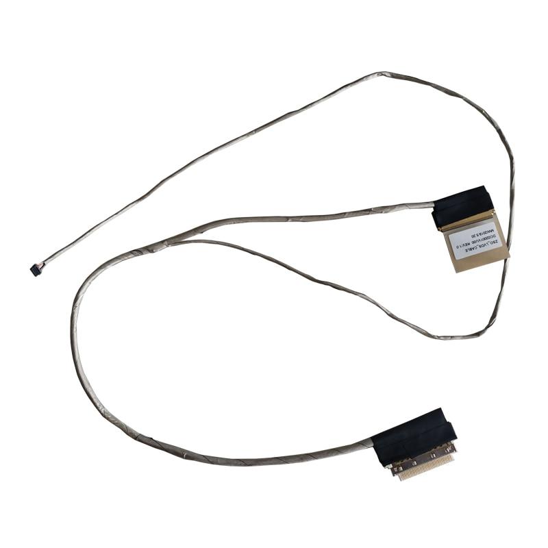 Cable flexible de vídeo LED LCD para HP TPN-C117 15-G 15-R 15-h 250 G3 255 G3 15-G019wm serie Cable de pantalla del Cable P/NDC02001VU00