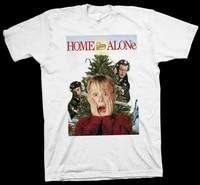 T-Shirt Macaulay Culkin  Joe Pesci  Daniel quinn  Home Alone  Film  cinema