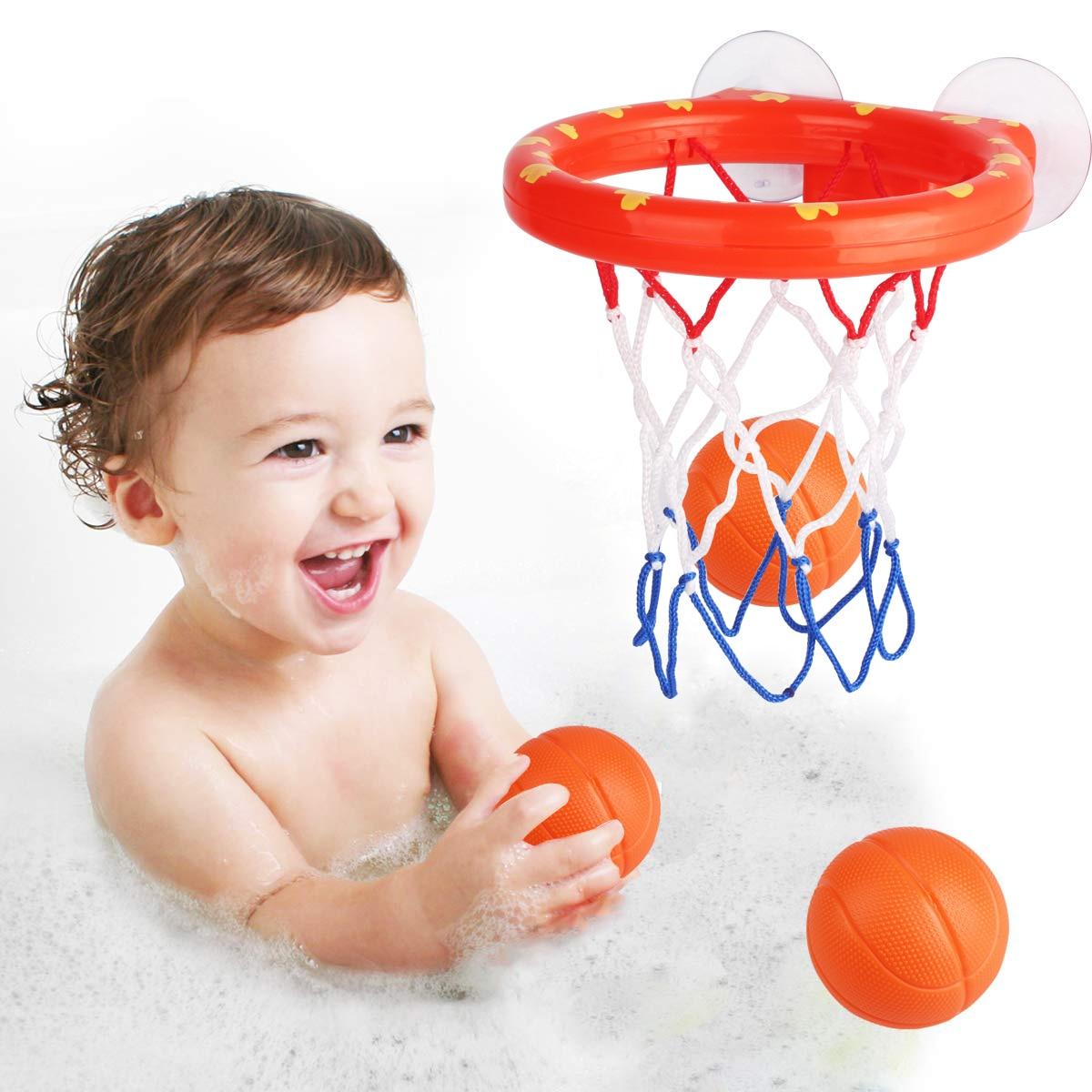 Баскетбол обруч Ванна игрушка на присосках набор для детей детская игра под открытым небом развитие мальчика интересный Крытый спортивный набор инструментов для ребенка