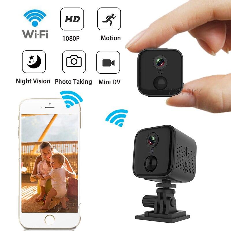 1080 p mini wifi câmera ip pir visão noturna detecção de movimento alarme segurança camaras espia monitor do bebê hd vídeo camcorder micro cam