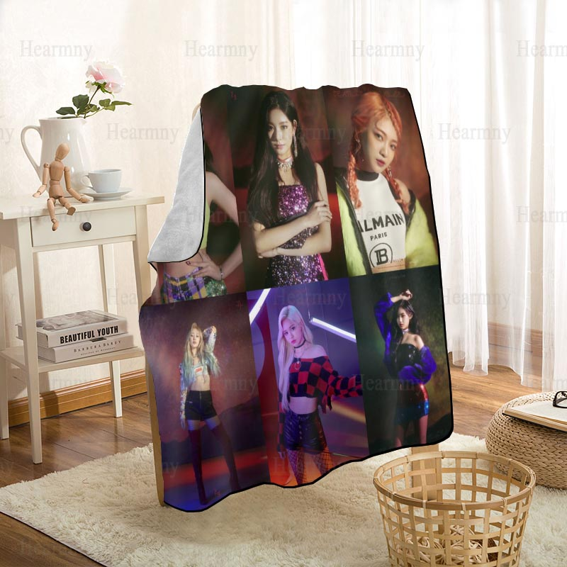 مخصص everتوهج Kpop بطانية شخصية بطانية على ل أريكة/سرير/سيارة المحمولة ثلاثية الأبعاد بطانية للطفل قماش نسيج منزلي 0512