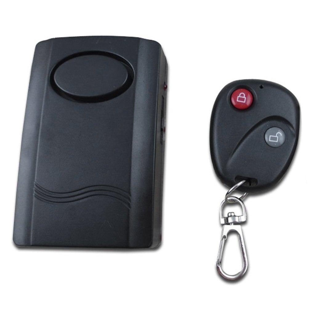 Alarme de Vibration sans fil securite a la maison moto porte de voiture fenetre Anti-vol detecteur de cambrioleur capteur 120dB telecommande