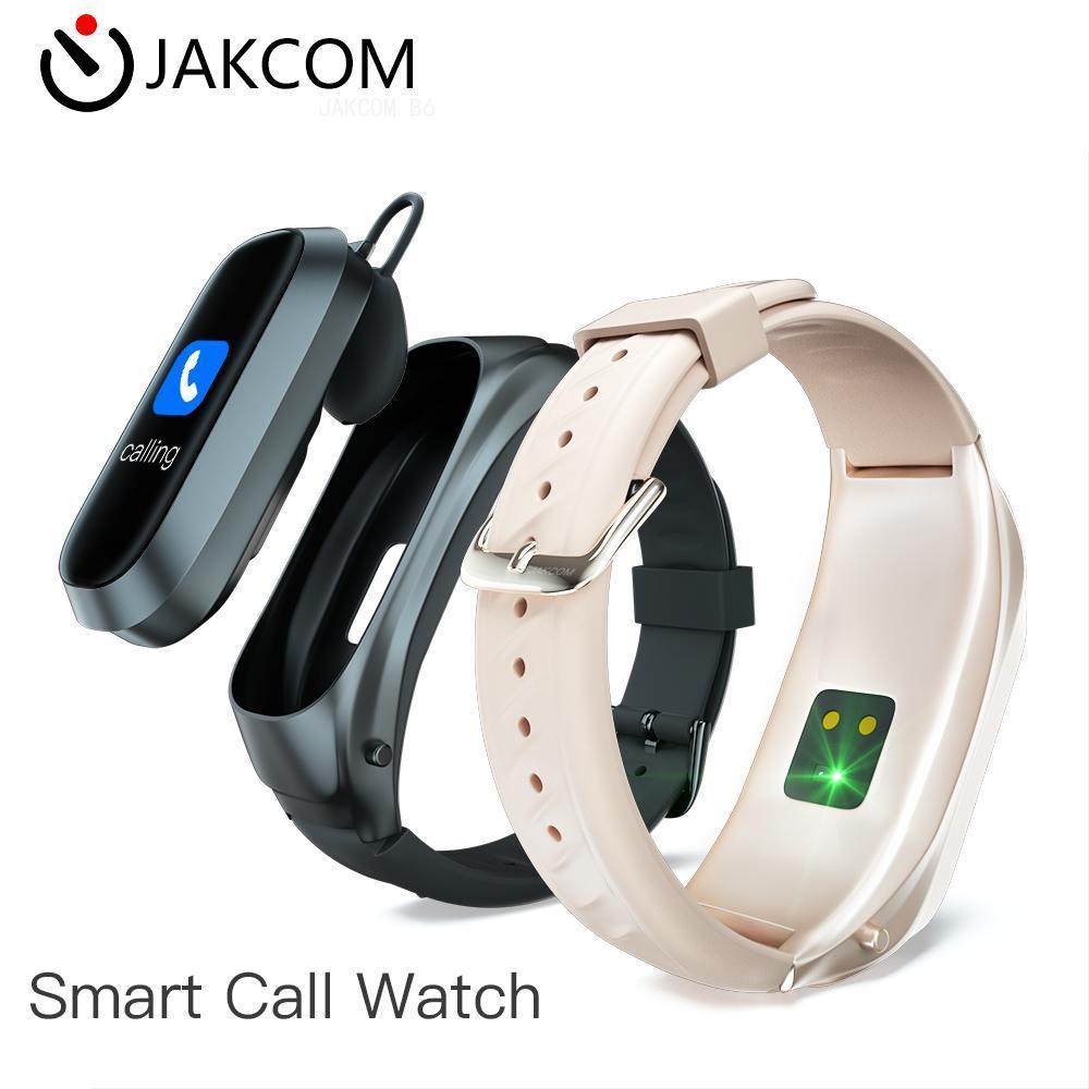 JAKCOM B6 inteligente a ver mejor regalo con Smart Watch gt 2 ecg elephone goophone 5 versión global g50s bend