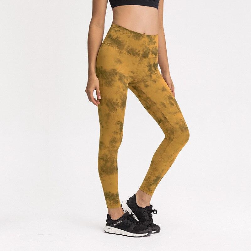 Calças ao ar Sentindo Yoga Calças Levantamento Correndo Camo Livre Roupas Esportivas Aceitar Logotipo Personalizado Tamanho nu Hip