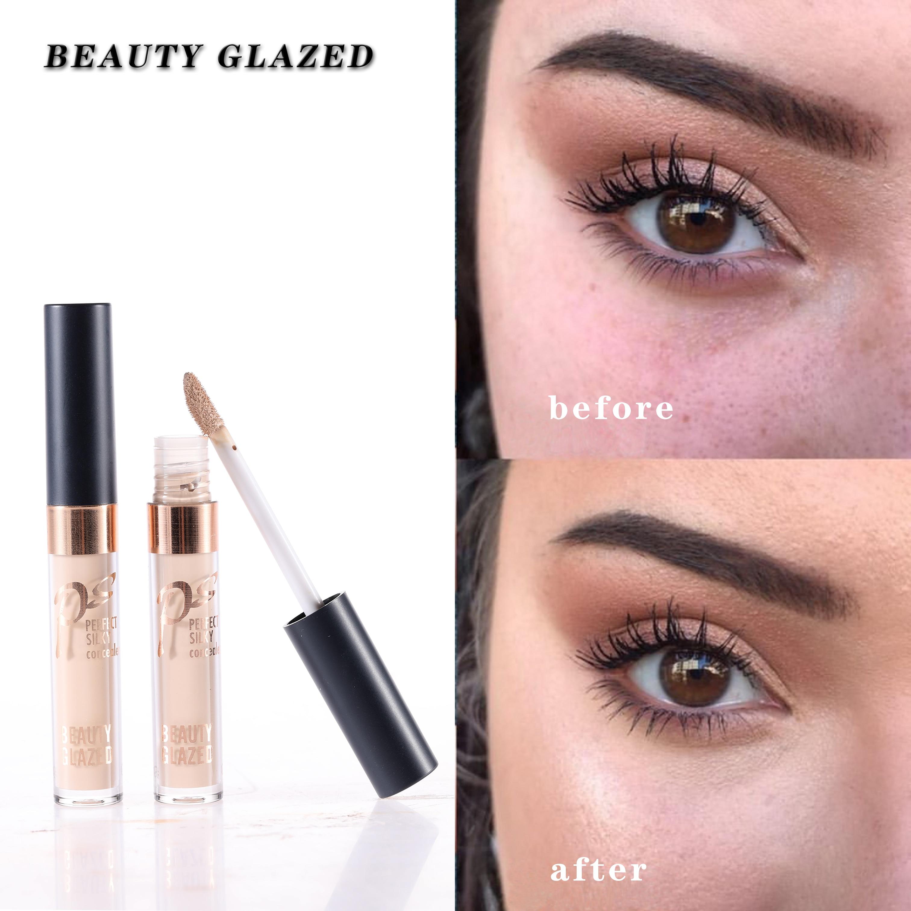 Beauty glazed paleta de maquiagem, base de tatuagem para aplicação de rosto, corretivo, base de maquiagem, 2019