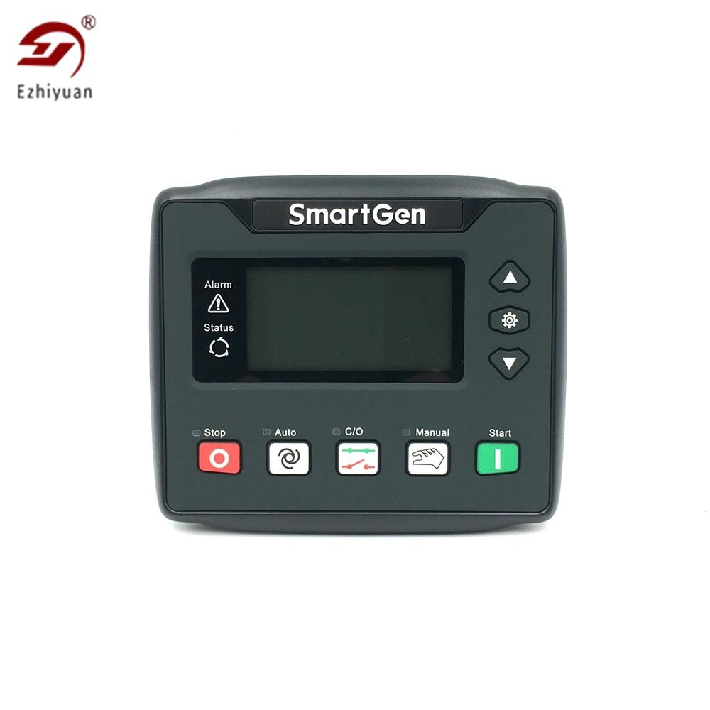 مولد الديزل Ezhiyuan HGM410N ، وحدة التحكم Smartgen HGM420N ، وحدة التحكم ATS